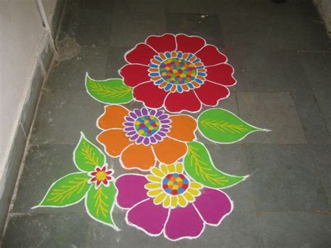 flower design youtube flower rangoli youtube
