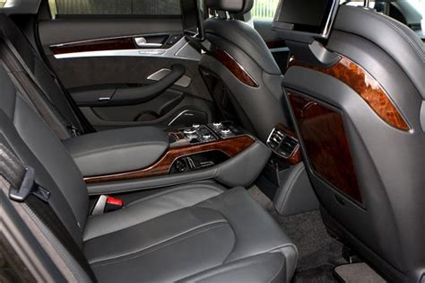 Audi A8 Back Seat by Audi A8 Travel For Mini Vips Parkers