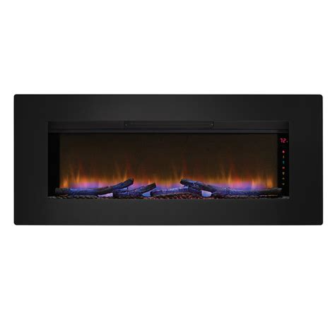 shop classicflame 46 57 in black electric fireplace insert