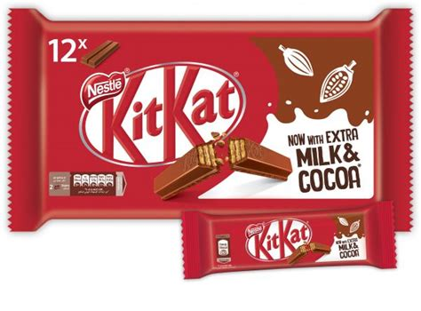 Kitkat 12 2 Free kitkat 12 2 finger milk chocolate wafer bar 20 5 g