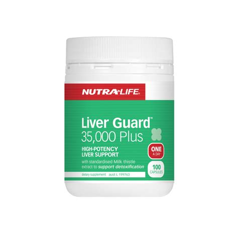Nutralife Detox And Cleanse by Liver Guard 35000 Plus