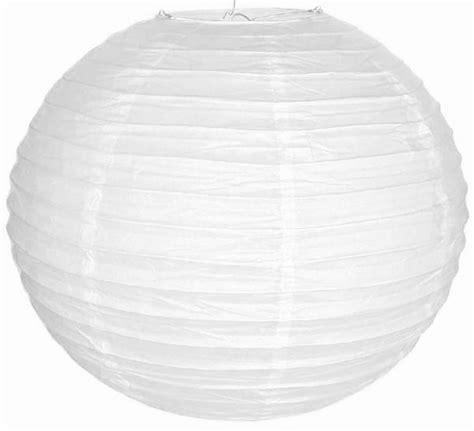 Paper Lantern White 24 quot white japanese paper lantern