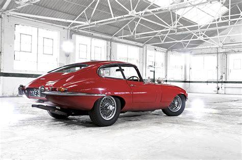 Jaguar E Type  Carmen Red Series 1 3.8 Fixed Head Coupe