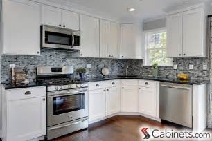 Kitchens With White Cabinets by White Kitchen Cabinets Cabinets Com