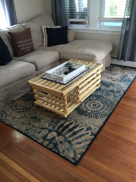 poly d wooden lobster trap coffee table made in usa free