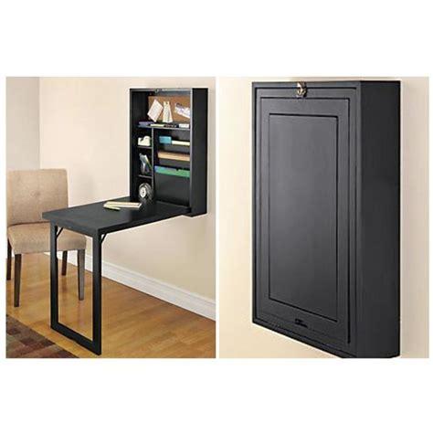 meuble bureau fermé avec tablette rabattable 1000 id 233 es sur le th 232 me table murale rabattable sur