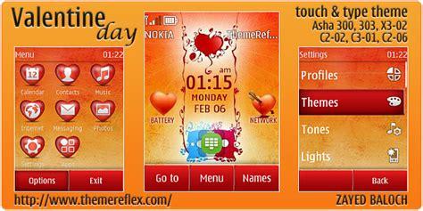 waptrick themes nokia asha 303 valentine day theme for nokia asha 303 300 x3 02 and