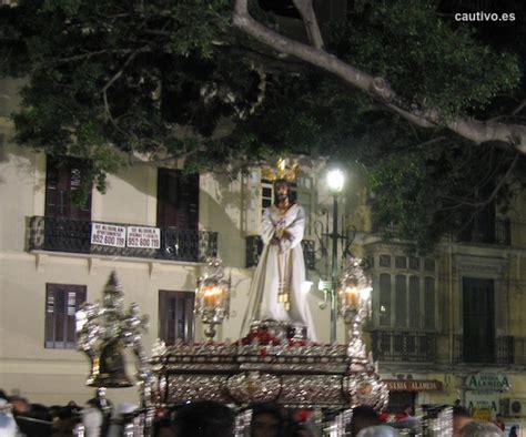 imagenes lunes santo malaga fotos del cautivo cautivo