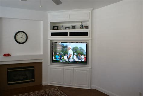 center built in tv wall units custom wall units and