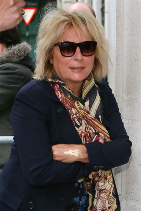 joanne lumley french twist the gallery for gt jennifer saunders 2013