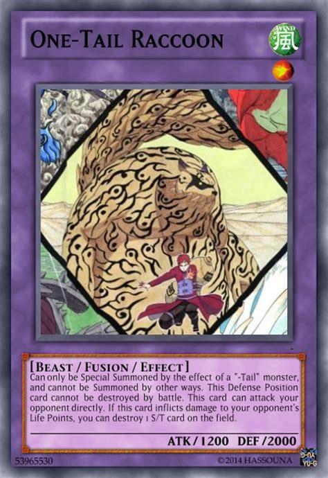 Racoon Deck by Jinchuuriki Naruto Tailed Beasts 20 Cards Spoderman