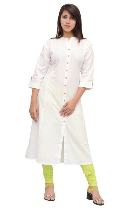 kurta pattern cutting buy princess cut kurti linen front buttoned formal wear