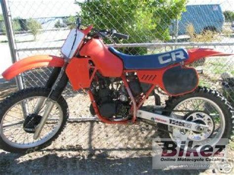 Honda Cr 125 Specs Hp