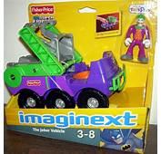 The Joker Vehicle Imaginext DC Super Friends Fisher Price