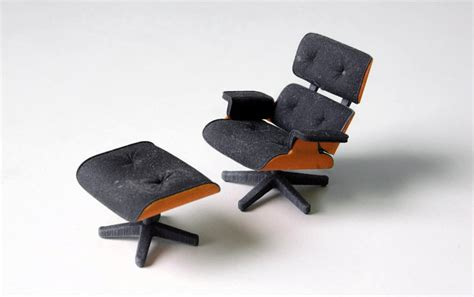 3d printed version of the 3d printed version of the iconic eames chair priced 25 freshome
