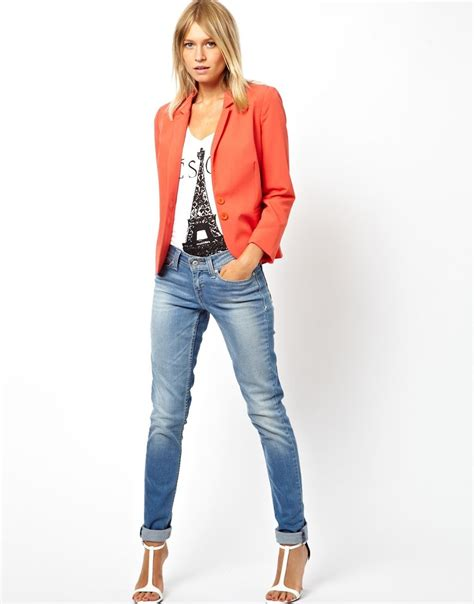 Light Jaket Jeanz by Orange Jacket With Light Fashionstatement