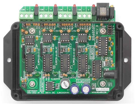 rs485 communication port rs485hub 4 port rs485 repeater hub with rs232 port r