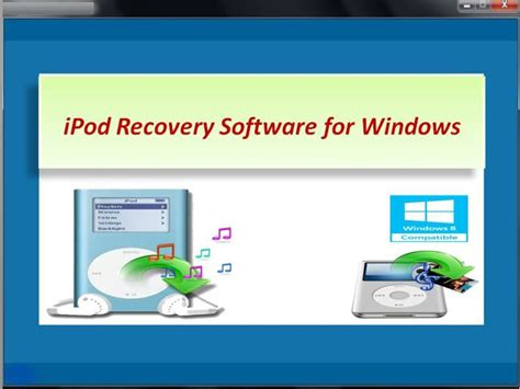 free ipod data recovery software full version ipod recovery software for windows 4 0 0 32