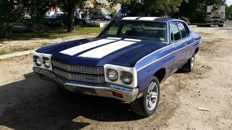 Chevelle Car by 1970 Chevrolet Chevelle Great Project Or Parts Car For Sale