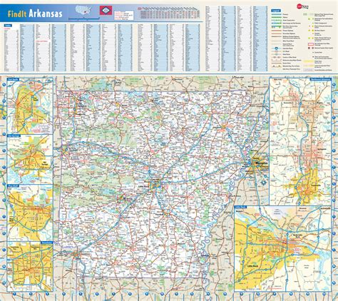arkansas on the map of usa detailed roads and highways map of arkansas state with