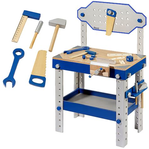 work bench for kids kids workbench toy workbench blue wooden
