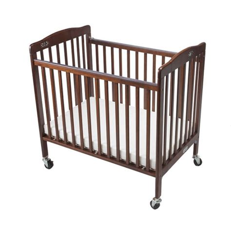 baby crib brown baby crib kokoontaitettava tummanruskea hotellitarbed