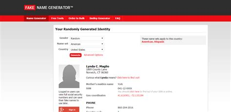 generate a random name fake name generator cinco maneras de generar informaci 243 n desechable para