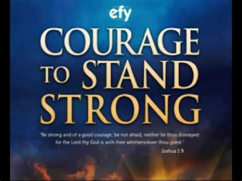 theme music to fortitude efy 2010 courage to stand strong theme song youtube