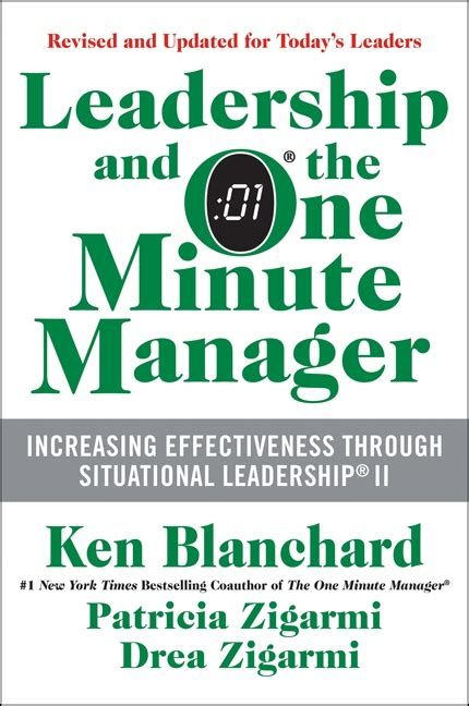 the one minute manager don t be a one dimensional leader adjust your style to the task how we lead