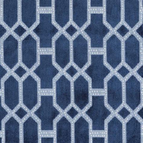 navy blue geometric velvet upholstery fabric for furniture