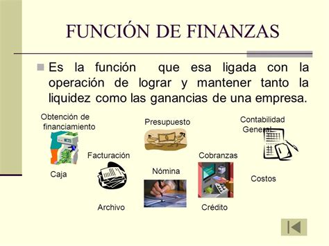 finanzas significado de finanzas diccionario funciones operativas de las empresas ppt video online