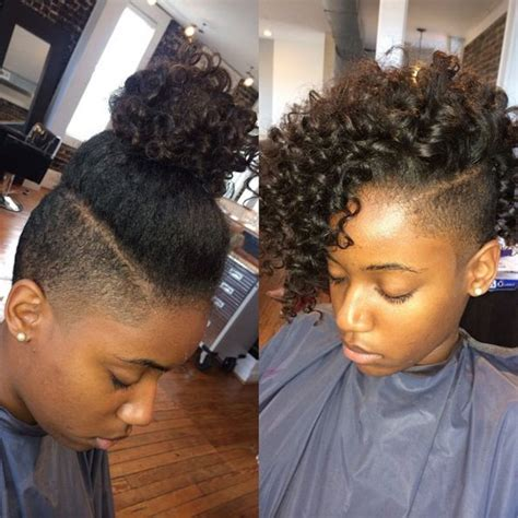 different hairstyles for a shaved side with natural hair shaved sides hairstyles for black hair google search