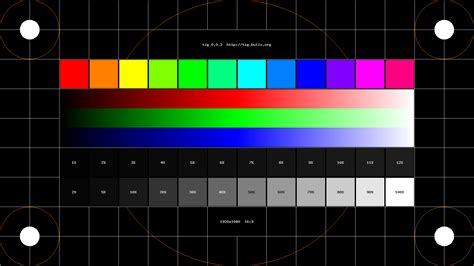 pattern test video test pattern 5 1920x1080 projection design bootc