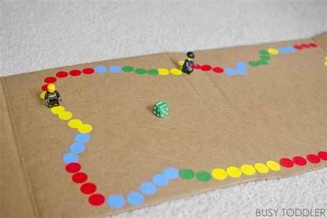 diy game diy board game busy toddler