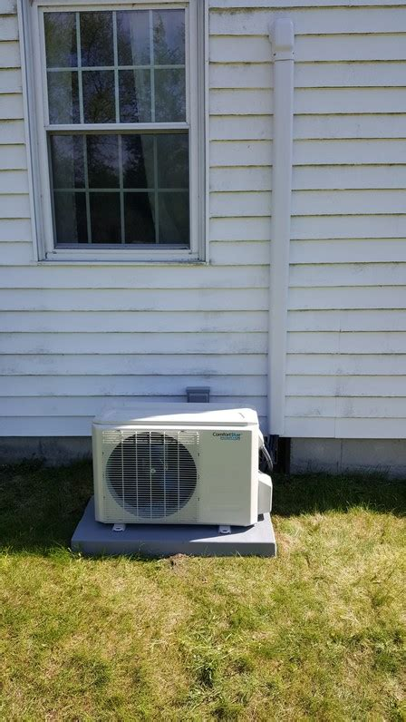 stuyvesant comfort new ductless mini split heat pump installation project in
