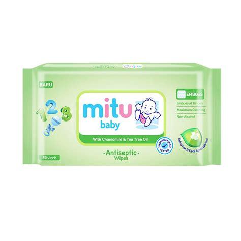 Wipes Mitu by Jual Mitu Baby Wipes Antiseptic 50 S Tissue Basah