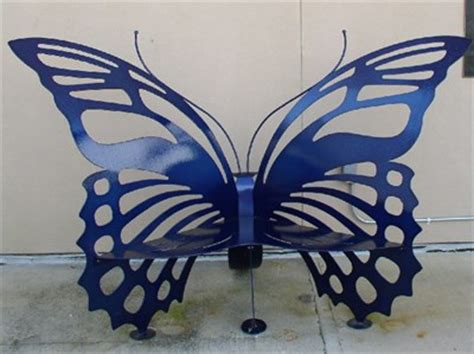 butterfly benches butterfly bench at the mcguire center gainesville fl artistic seating on