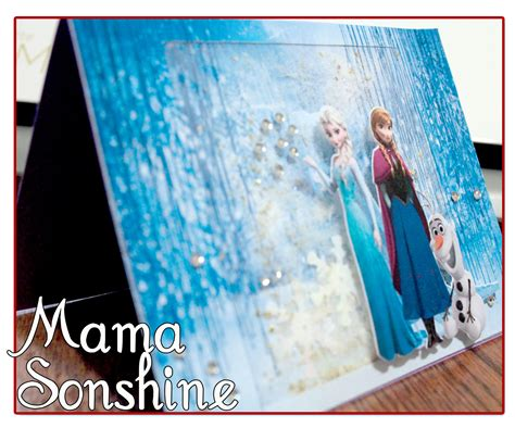 Frozen Printable Greeting Card | frozzen birday cards party invitations ideas