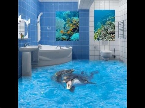 Ocean Themed Bathroom Ideas Bathroom 3d Floor Design Ideas 2015 Luxury Bedroom