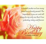 Birthday Wishes And Messages For Wife  Wordings