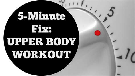5 min fix workout for all levels no equipment