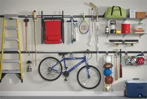 garage organizing system fasttrack garage organization system