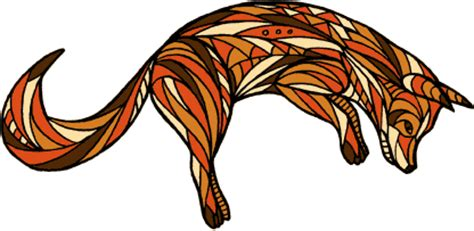 draw yonni gagarine jumping fox