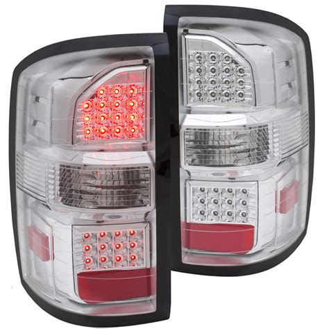 2014 gmc sierra tail lights 2014 2015 gmc sierra new body style performance led tail