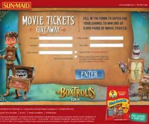 Sun Maid Movie Ticket Giveaway - mccainpotatoesgrocerygiveaway com mccain potatoes grocery goodness sweepstakes