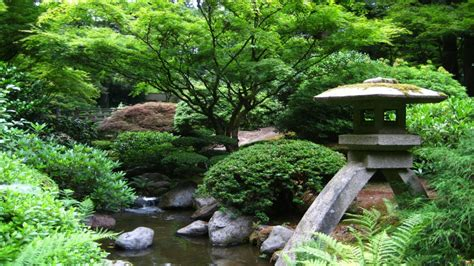 japanese zen garden water stream shakuhachi youtube