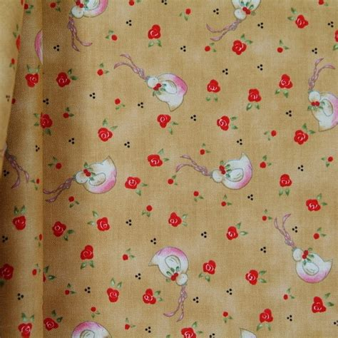 clearance whimsical christmas fabric here comes