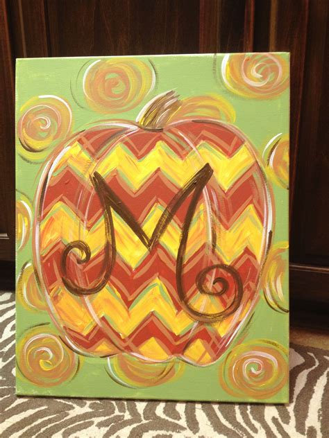i ll add a few new paintings to my gallery by harukohosokawa on deviantart new design currently booking paint with this chevron pumpkin design i ll