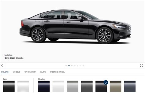 build your own volvo you can now build your own 2017 volvo s90 sedan online
