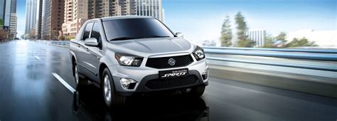 ssangyong korando sports 2012 ssangyong korando sports to be launched this autumn